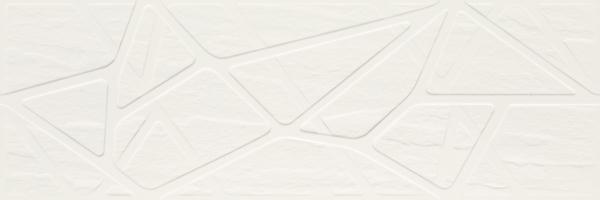 Imagine Titanium Bianco Struktura Kratka 25x75