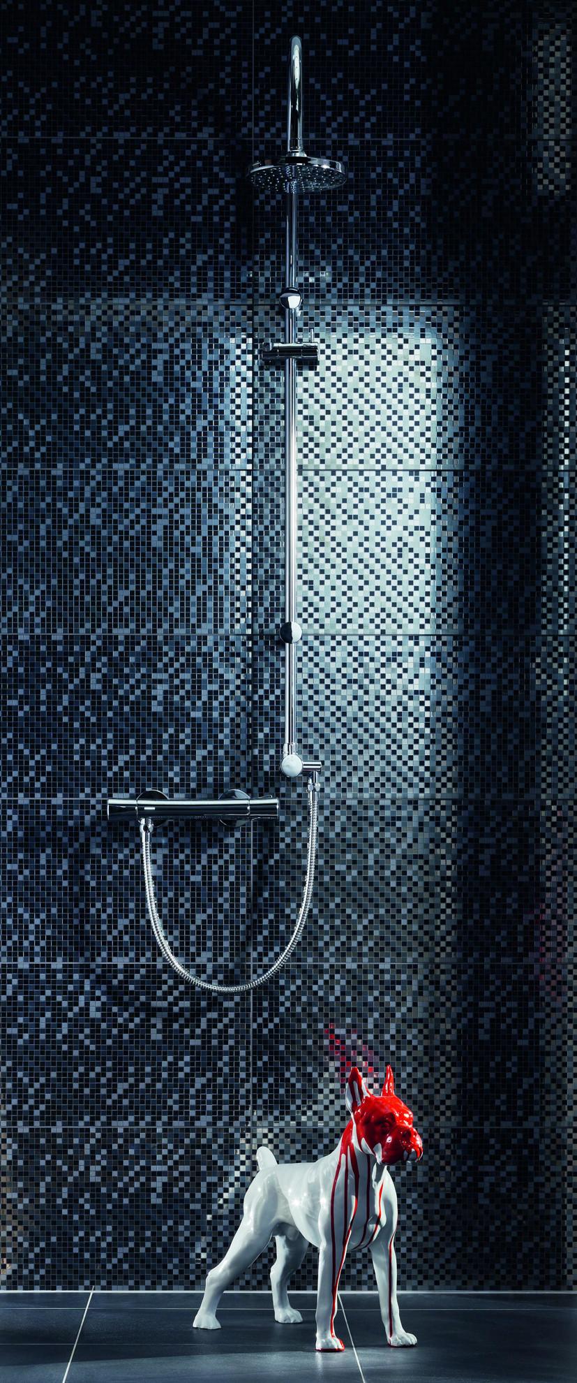 Imagine Gresie Vampa Black 44,8x44,8