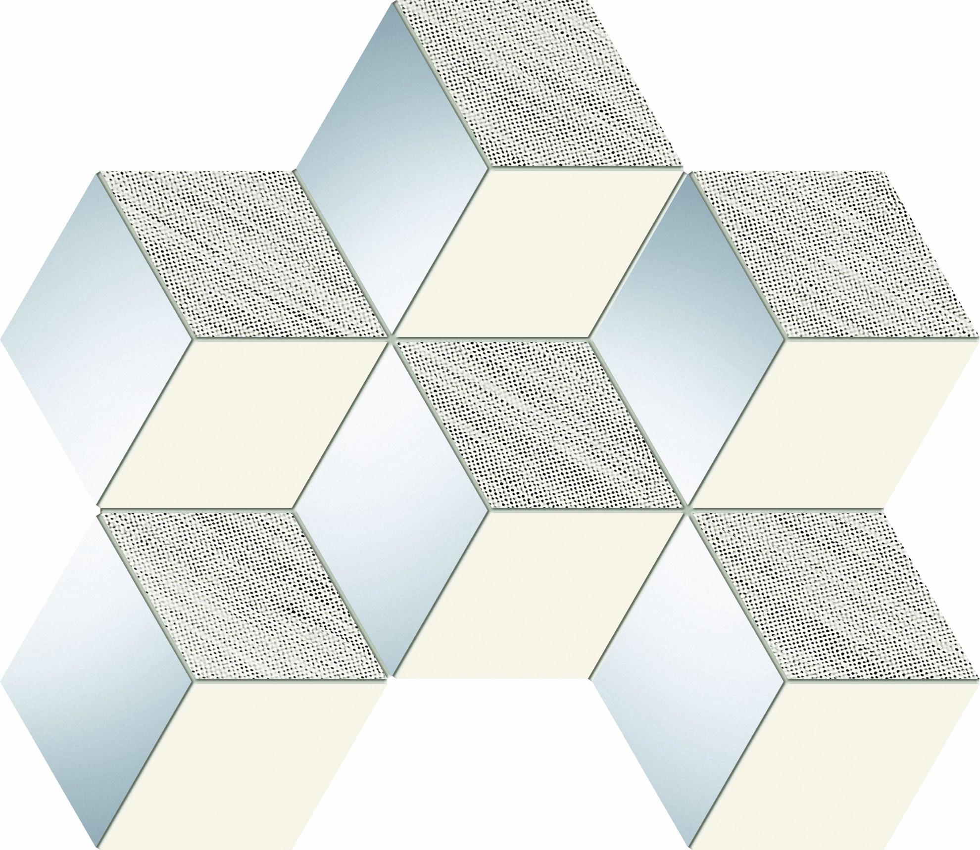 Imagine Mozaic Senza Grey Hex 28,9x22,1