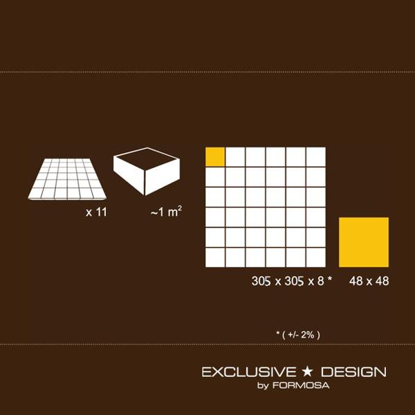 Mozaic Bambus A-BM5X5-R3-XXX