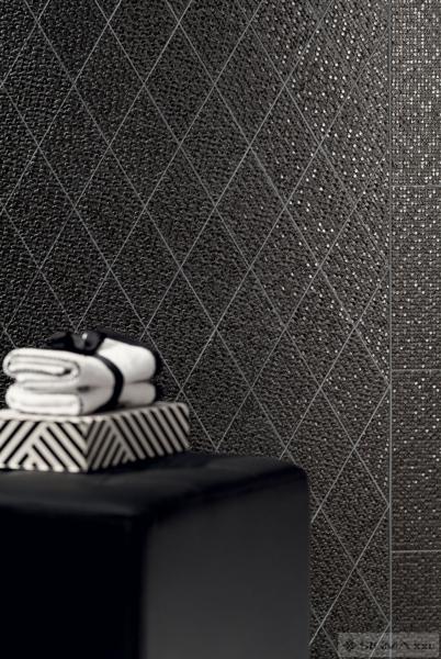Faianta Coralle Diamond Black - Romb