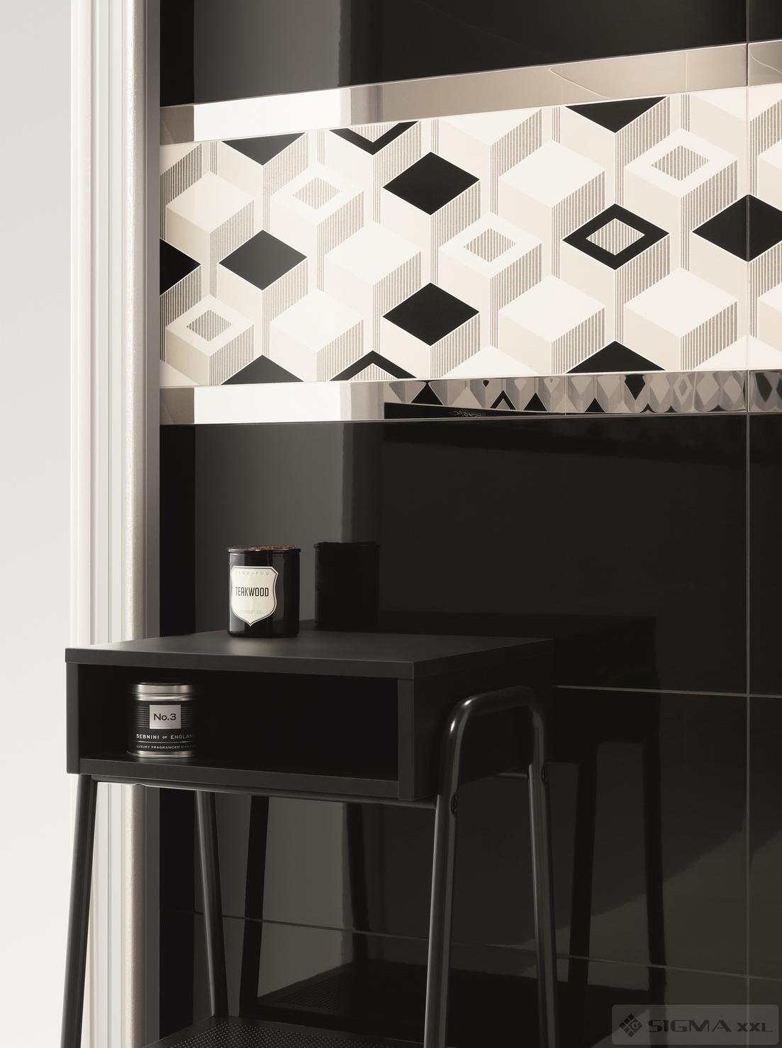 Imagine Faianta Colour Black 29,8x74,8