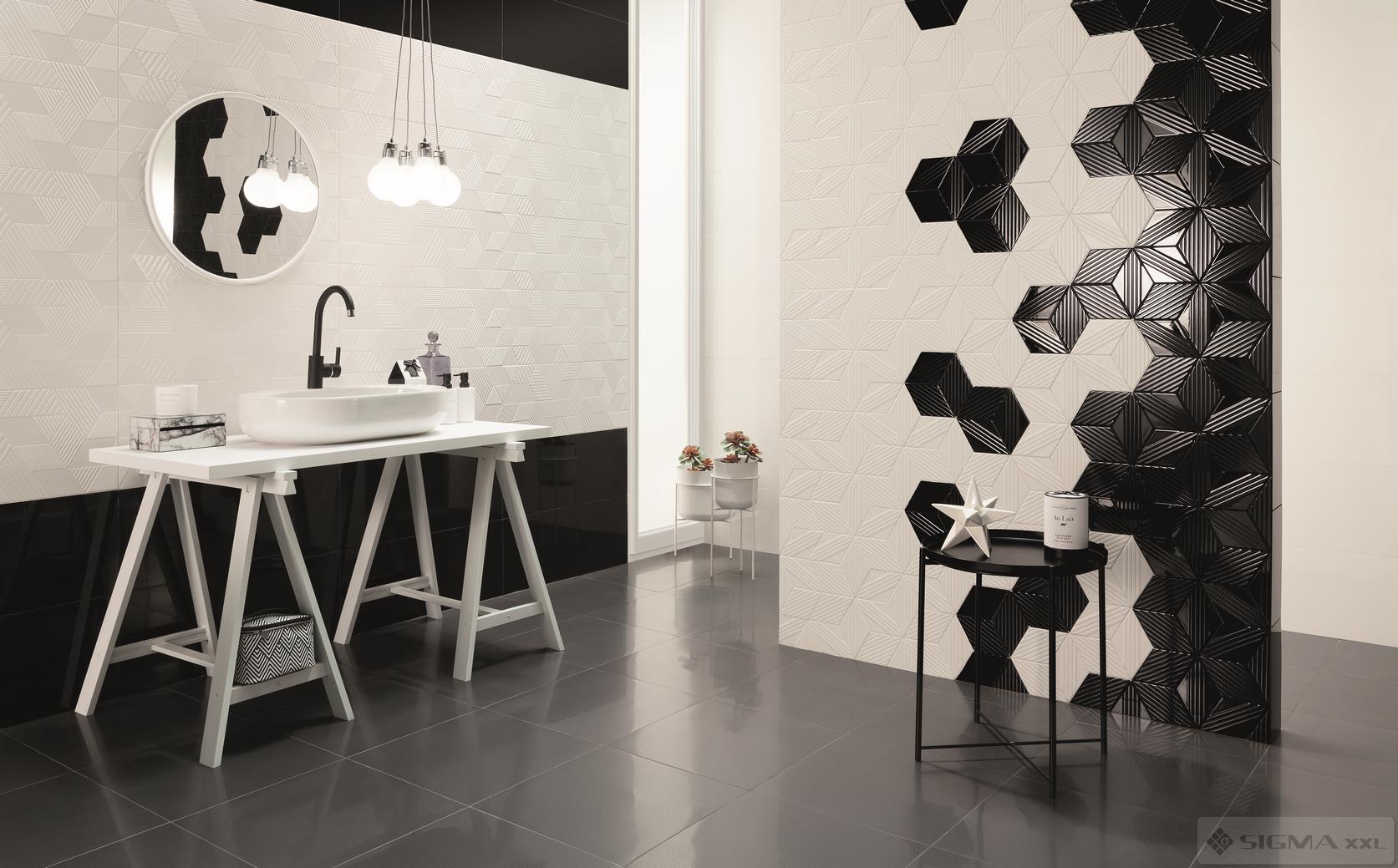 Imagine Mozaic Colour Black Heksagon 22,6x19,8