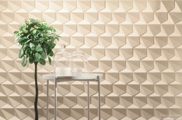 Mozaic Chenille Beige HEX 28,9x22,1