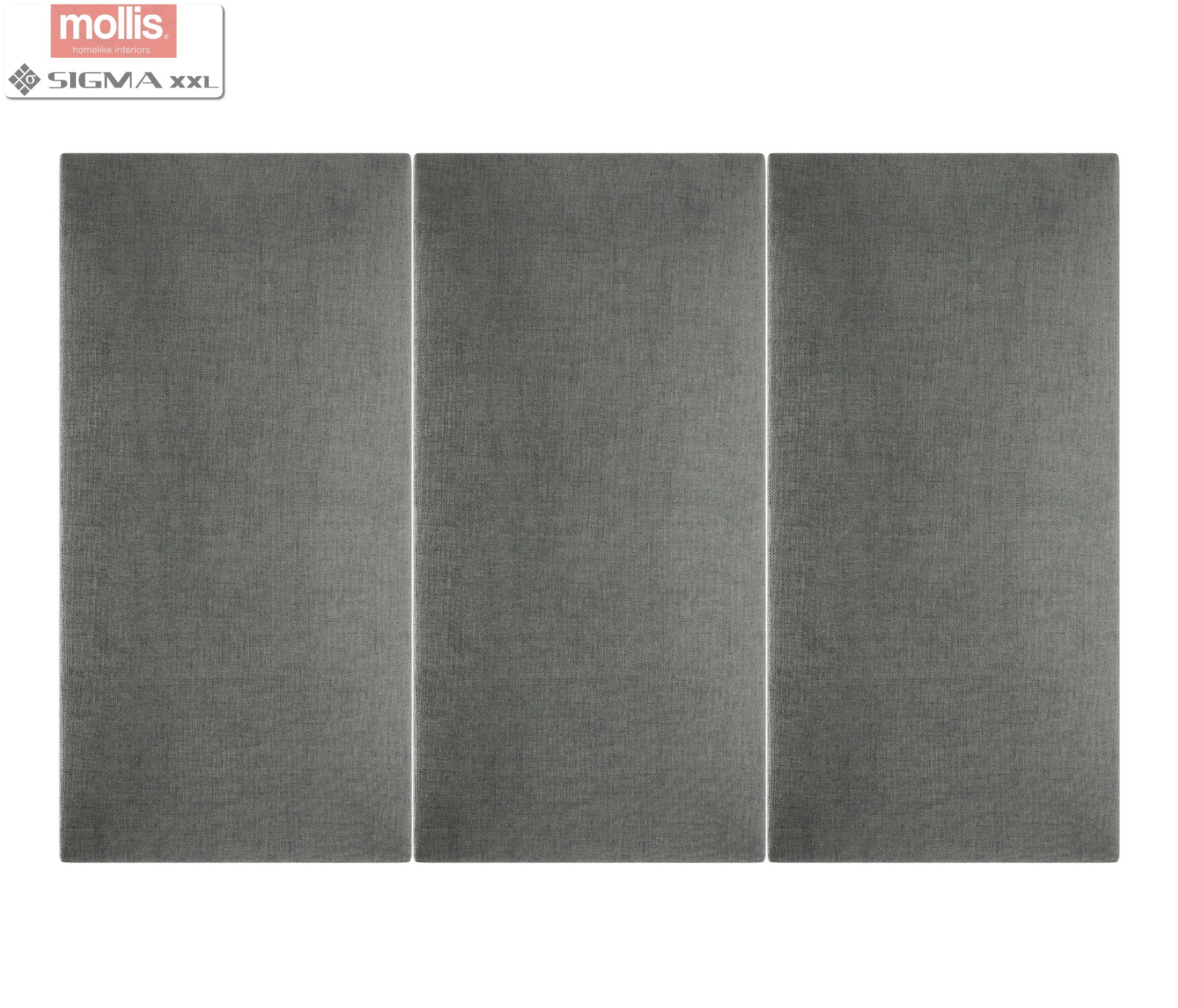 Imagine Mollis Basic 01 Antracit (Dreptunghi- 30x60 cm)