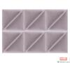 Imagine Mollis Basic 02 Lavender (Triunghi - Set 2 buc = 30x30 cm)