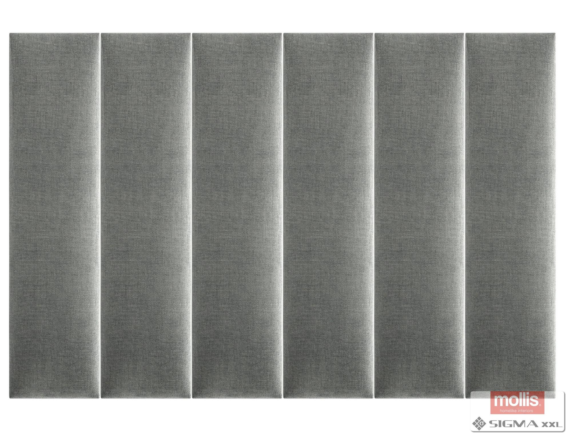 Imagine Mollis Basic 03 Antracite (Dreptunghi- 15x60 cm)