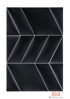 Imagine Mollis Abies 02 Black (Paralelogram B - 30x15 cm)