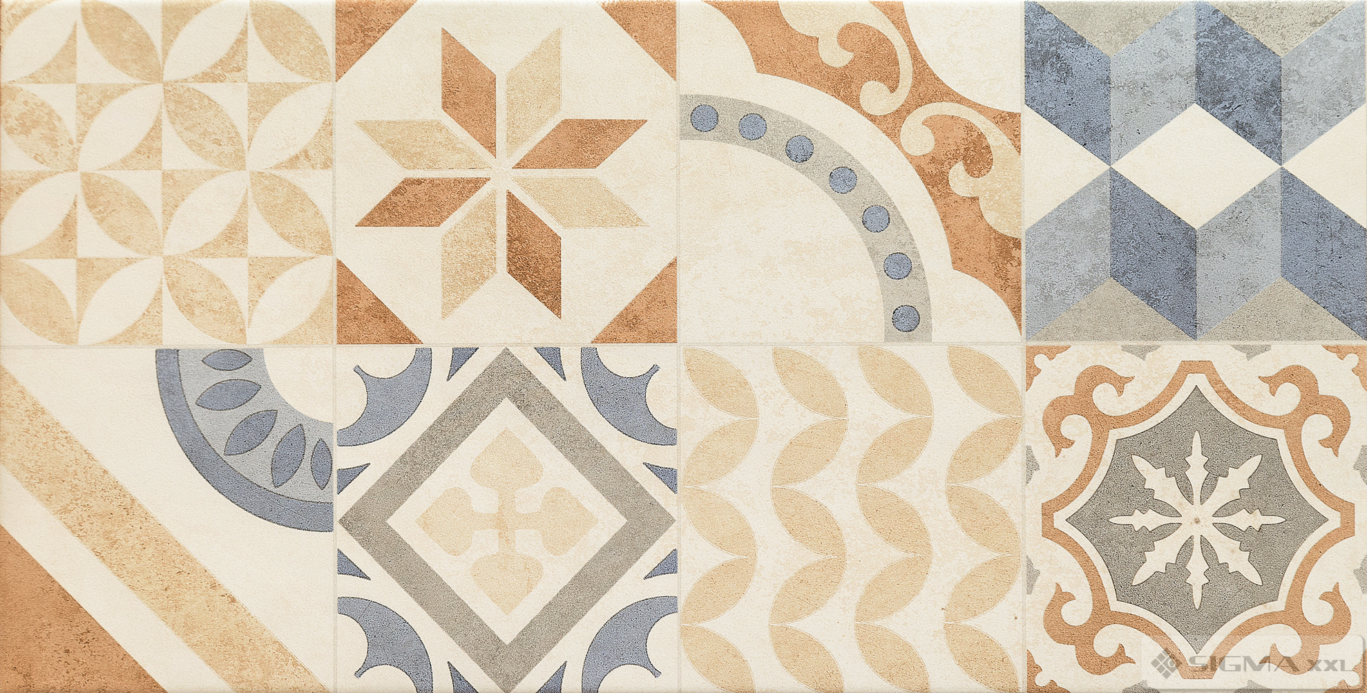 Imagine Faianta Neutral Beige Patchwork 29,8x59,8