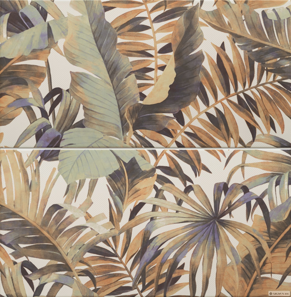 Imagine Decor compus din 2 elemente Selvo Jungle 61,8x60,8 ( 30,8x60,8 x 2)