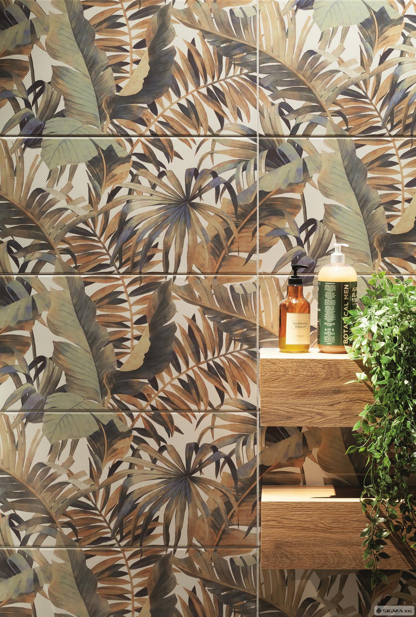 Imagine Decor compus din 2 elemente Selvo Jungle 61,8x60,8 ( 30,8x60,8 x 2)