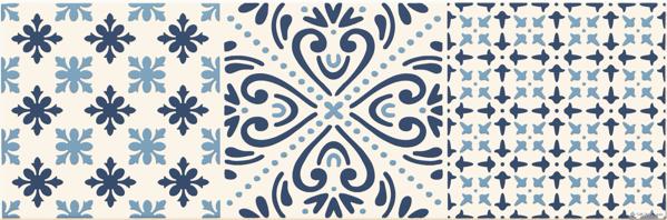 Imagine Decor Avignon Cobalt  2  14,8x44,8