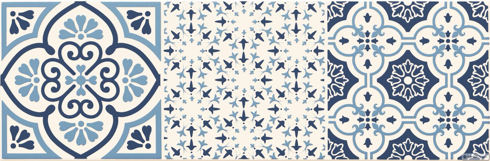 Imagine Decor Avignon Cobalt  3  14,8x44,8