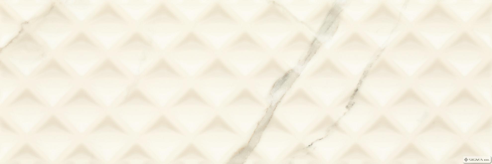 Imagine Faianta Livia Bianco Struktura 25x75