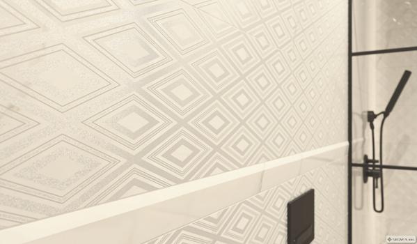 Livia Bianco Inserto 25x75