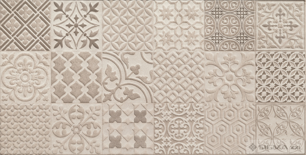 Imagine Faianta Velvetia Patch Grey STR 30,8x60,8